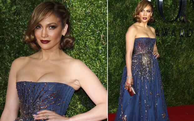 JLo total glamourös bei Tony Awards