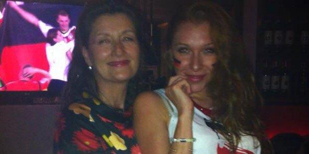 Georgina: Bei WM mit Mama versöhnt