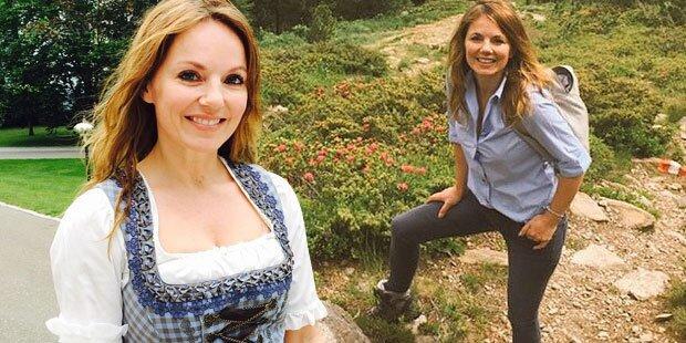Geri Halliwells cooler Österreich-Trip