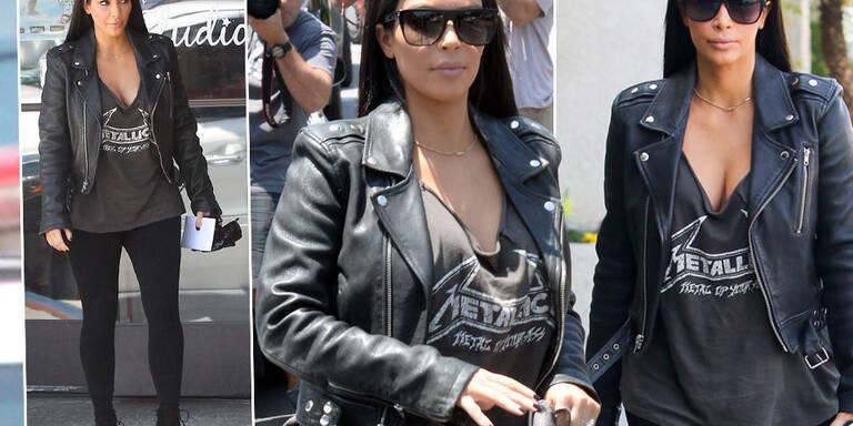 Kim Kardashian, bist du jetzt eine Rockerin?