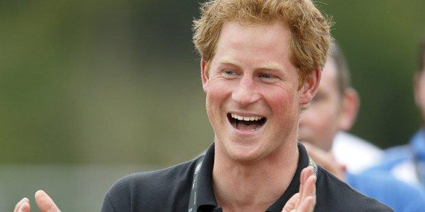 Prinz Harry verbringt 30er