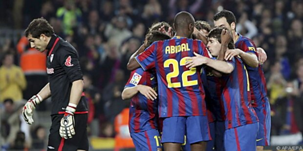 Barcelona legte wieder vor - 4:1 gegen Bilbao