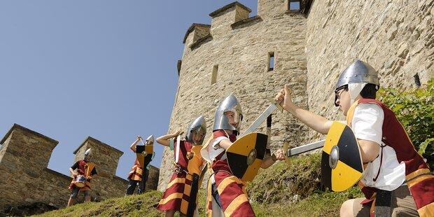Salzburgs Burgen und Schlösser präsentieren das Ferienprogramm 2017