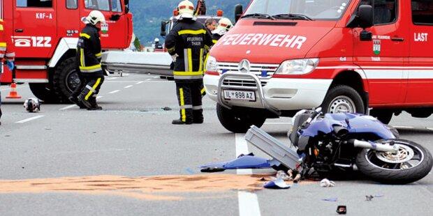Zeugen ließen Biker sterben