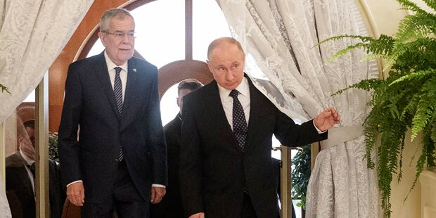 Putin empfing VdB im Luxus-Sanatorium