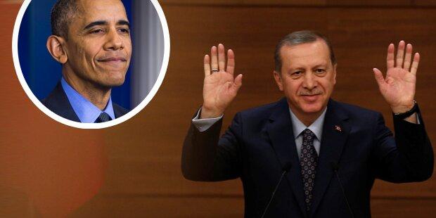 Erdogan beugt sich Obamas Willen