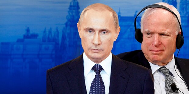 US-Senator McCain hetzt gegen Putin
