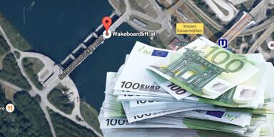 """Geld in Neuer Donau: """"kein Falschgeld"""""""