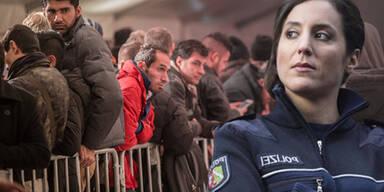 """Polizistin: """"Flüchtlings-Situation ist noch schlimmer"""""""