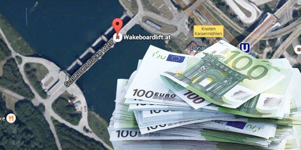 Geld in Neuer Donau: