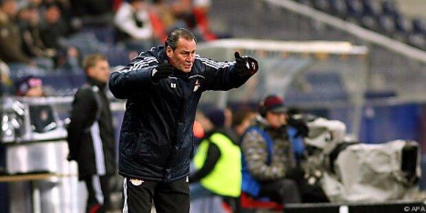 Salzburg-Coach Stevens nach 1:1 fuchsteufelswild