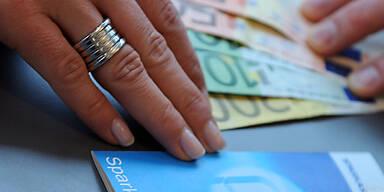 """""""Unzumutbare Zinssatzuntergrenzen für Sparbücher"""""""