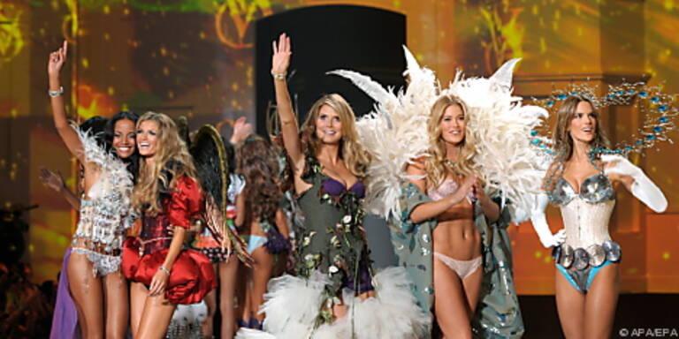 'Victoria's Secret'-Show - für Jimmy viel zu tun
