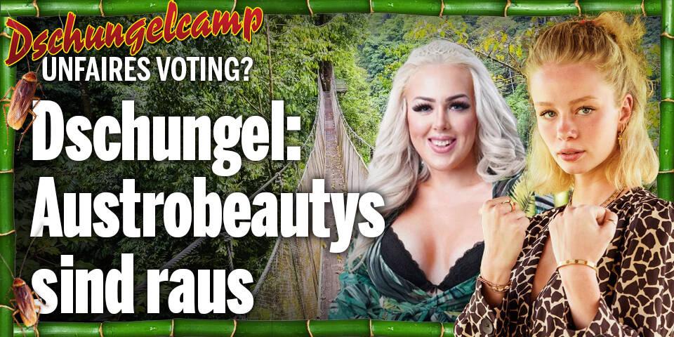 Dschungel: Austrobeautys sind raus - unfaires Voting?