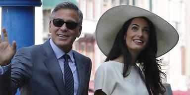 Clooney & Amal offiziell verheiratet