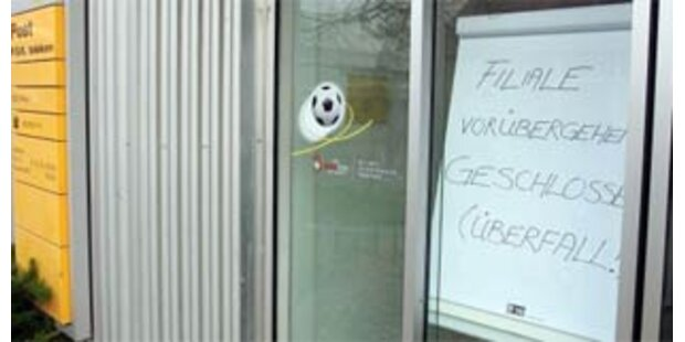 Nach 5. Überfall schließt Salzburger Bank ihre Filiale