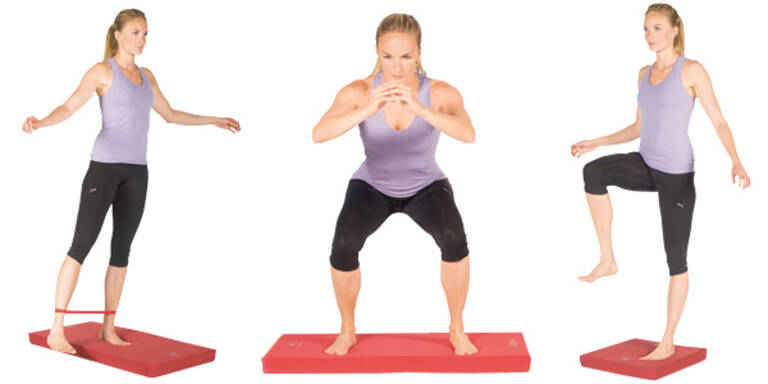 Übungen für gesunde Venen und gegen Cellulite