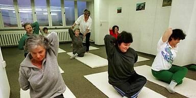 Übungen unter Anleitung machen