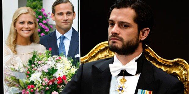 Carl Philip: Drohungen an Madeleines Ex