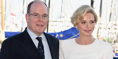 Fürstin Charlene, Fürst Albert von Monaco