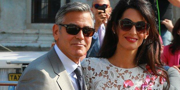 Clooney: Baby-Druck vom Schwiegerpapa
