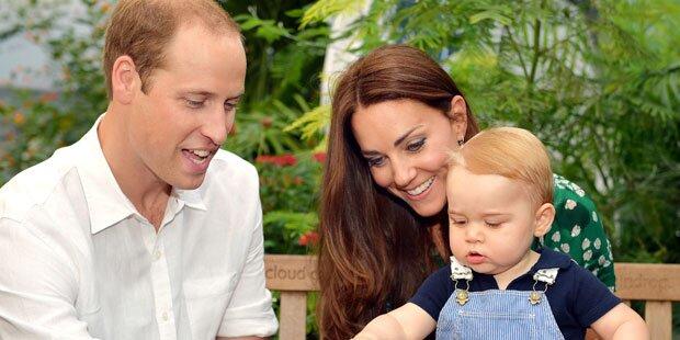Prinz George: So lief seine Party