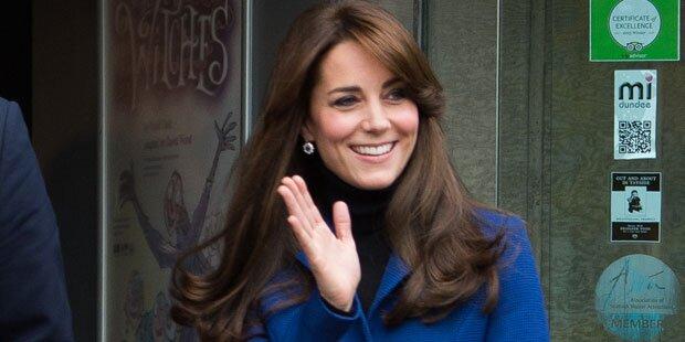 Keine Pause für Herzogin Kate