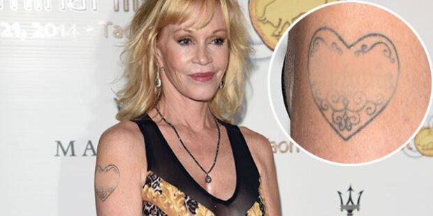 Griffith: Antonio-Tattoo einfach überschminkt