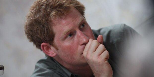 Harry: Tränen bei Erinnerung an Diana
