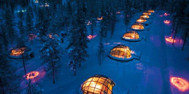 Die schönsten Winter-Flitter-Hotels