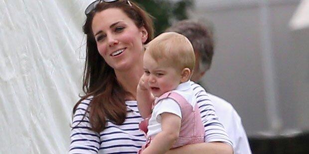 Kate: So mager wegen Babystress?