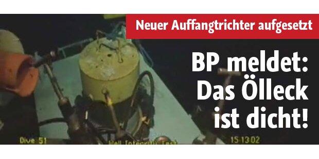 BP meldet erstmals Öl-Stopp
