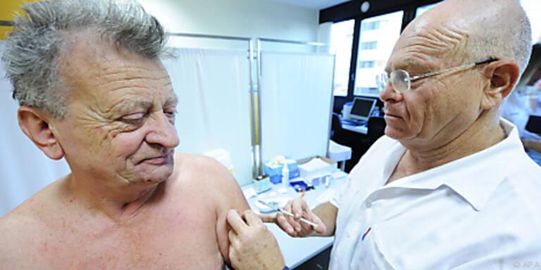Ältere Menschen haben eine Teilimmunität