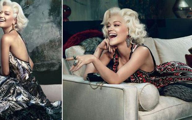 Rita Ora verführt als Marilyn Monroe