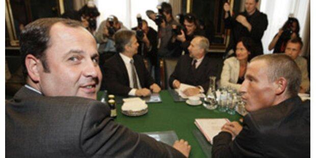 Österreich-Gespräche werden fortgesetzt