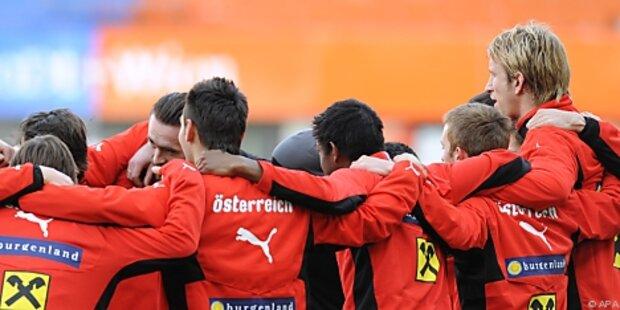 ÖFB-Team startet gegen Dänen ins Länderspieljahr