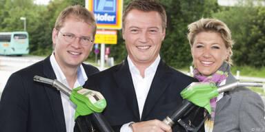 (v.l.): Pröll, Friesacher und Eder