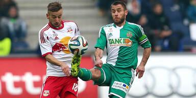 6:3-Torfestival für Salzburg gegen Rapid