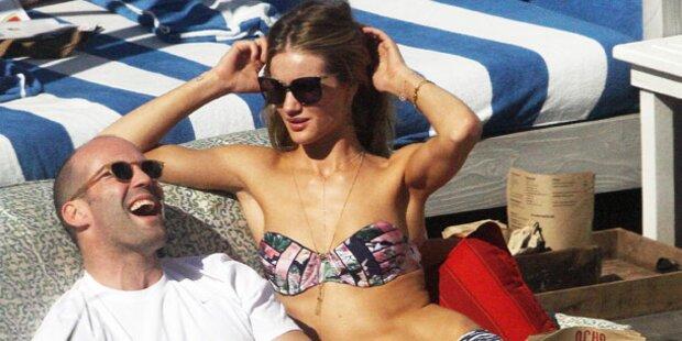 Rosie & Statham: Relaxed im Urlaub
