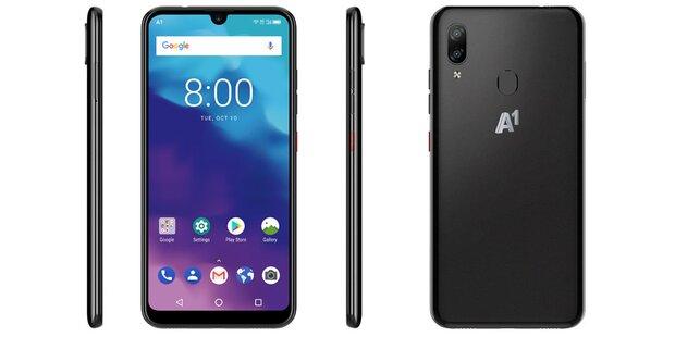 A1 greift mit eigenem Smartphone an