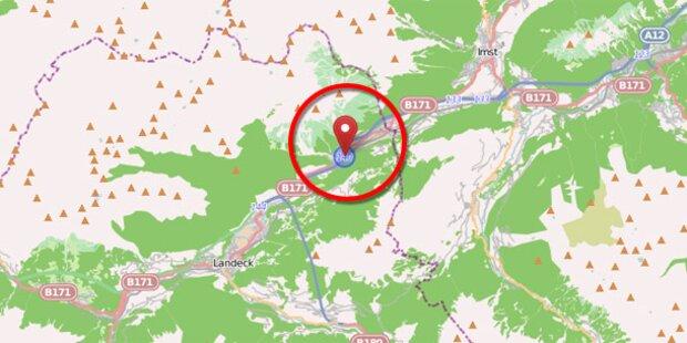 Inntalautobahn A12 bei Schönwies gesperrt