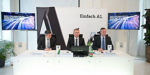 A1 zeigt innovative Breitband-Technik