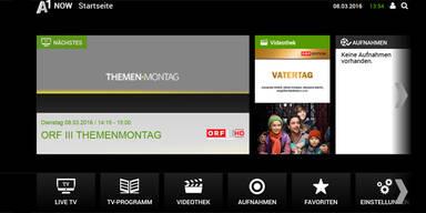 A1 Now: Netlfix-Gegner offiziell gestartet