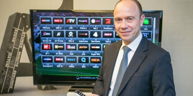 A1 TV wird ordentlich aufgerüstet