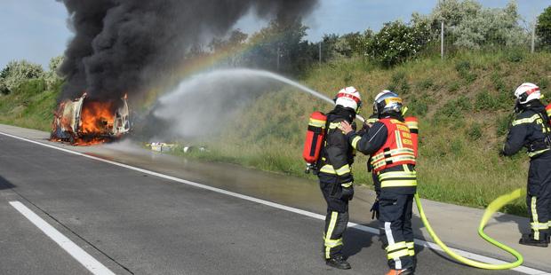 A2 Feuer Kleintransporter