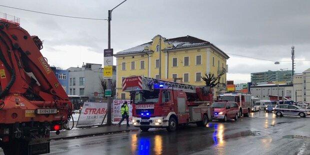 Arbeitsunfall in der Stadt Salzburg