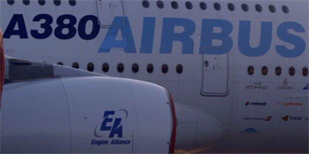Risse in Flügeln des Riesen-Airbus entdeckt
