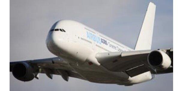 Erste technische Panne für Airbus-Superjumbo A380