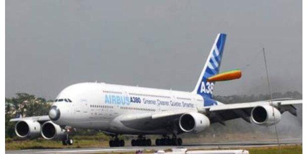 Airbus drosselt Produktion des A380