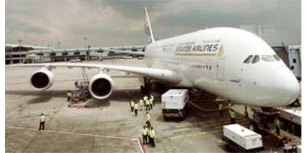 20.000 Dollar für ersten A380-Flug